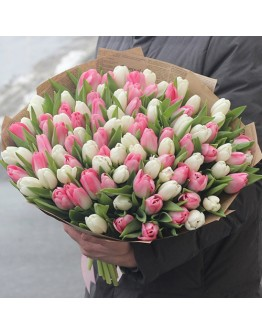 Special on Womens Day 101 tulip LUX