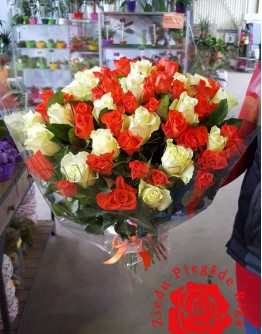 Mix roses 50cm