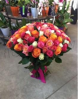Mix roses 60cm