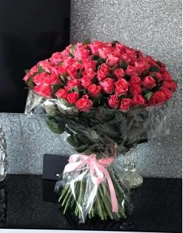 Light pink roses 60cm