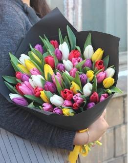 Mix tulip bouquet